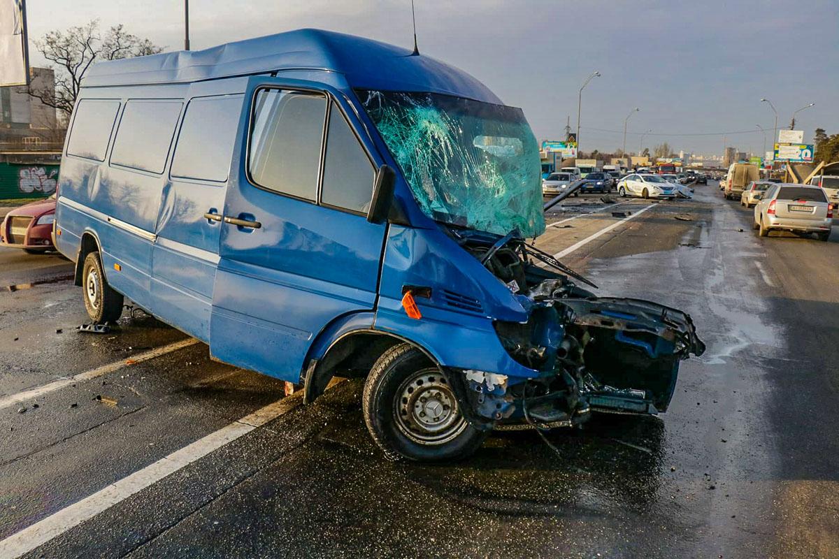 "Mercedes Sprinter - ""жертва"" удара Opel Signum"