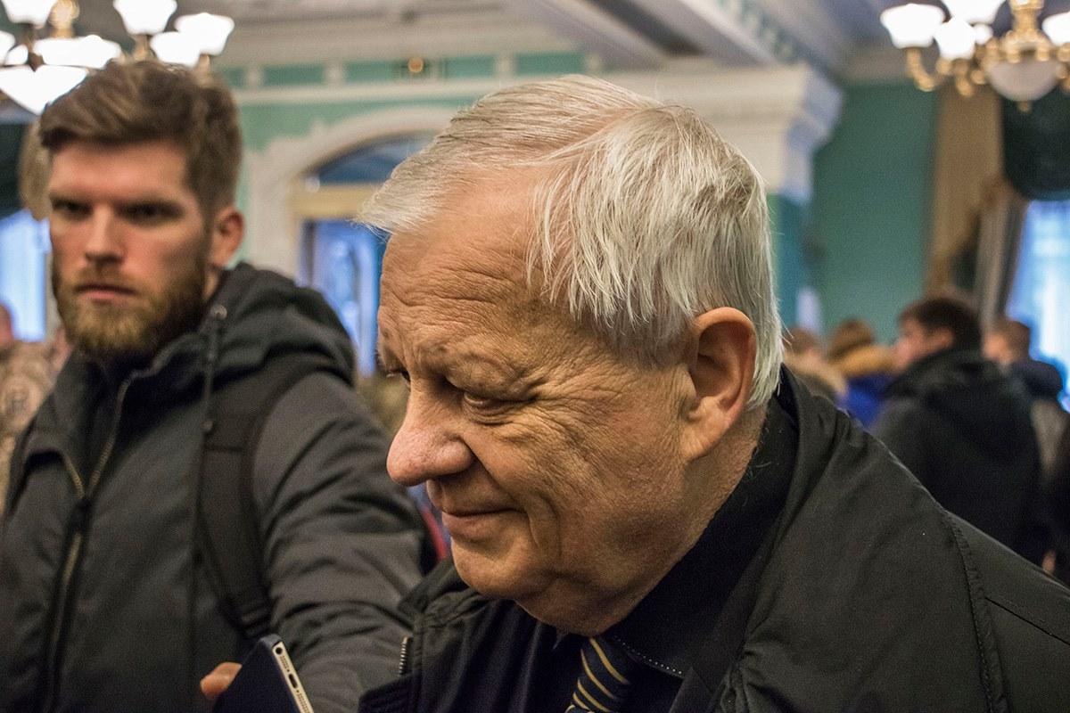 """Бывший гендиректор """"Южмаша"""" и экс-председатель Национального космического агентства Украины Юрий Алексеев"""