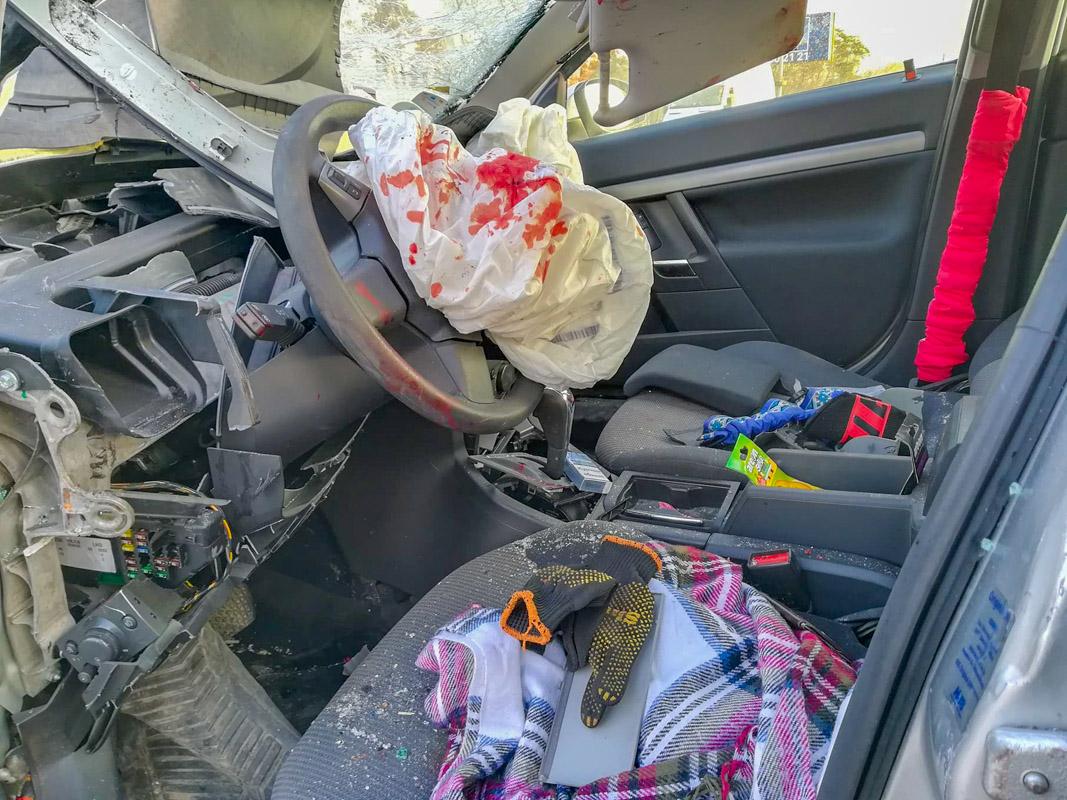 В аварии пострадали три человека. К счастью, обошлось без летального исхода
