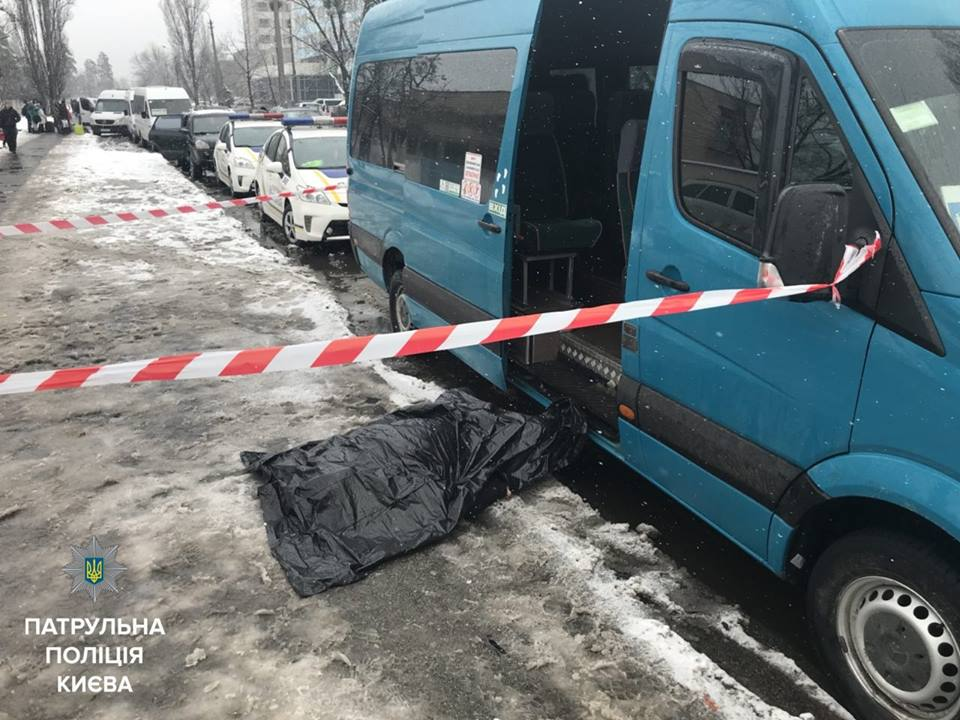 Убийство произошло на остановке общественного транспорта