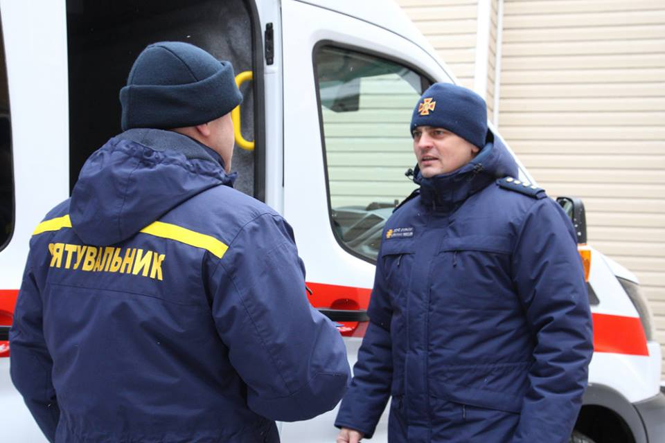 Нашивка в виде флага Украины и веточки калины - новая особенность формы спасателей