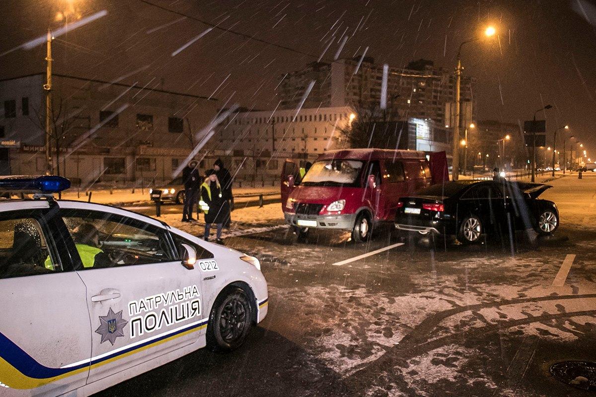 На месте ДТП работала полиция