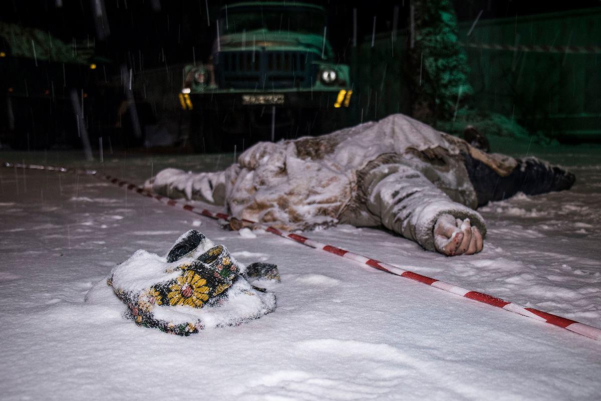Авария произошла в селе Хотов