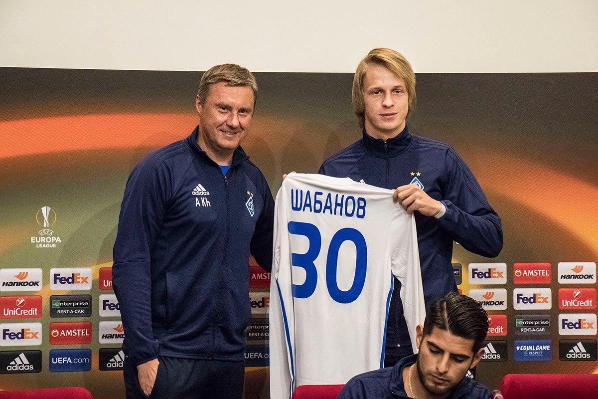 25-летний воспитанник академии киевского «Динамо» Артем Шабанов