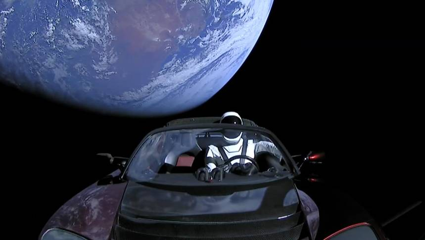 Автомобиль Илона Маска приблизится к Марсу 8 октября 2020 года