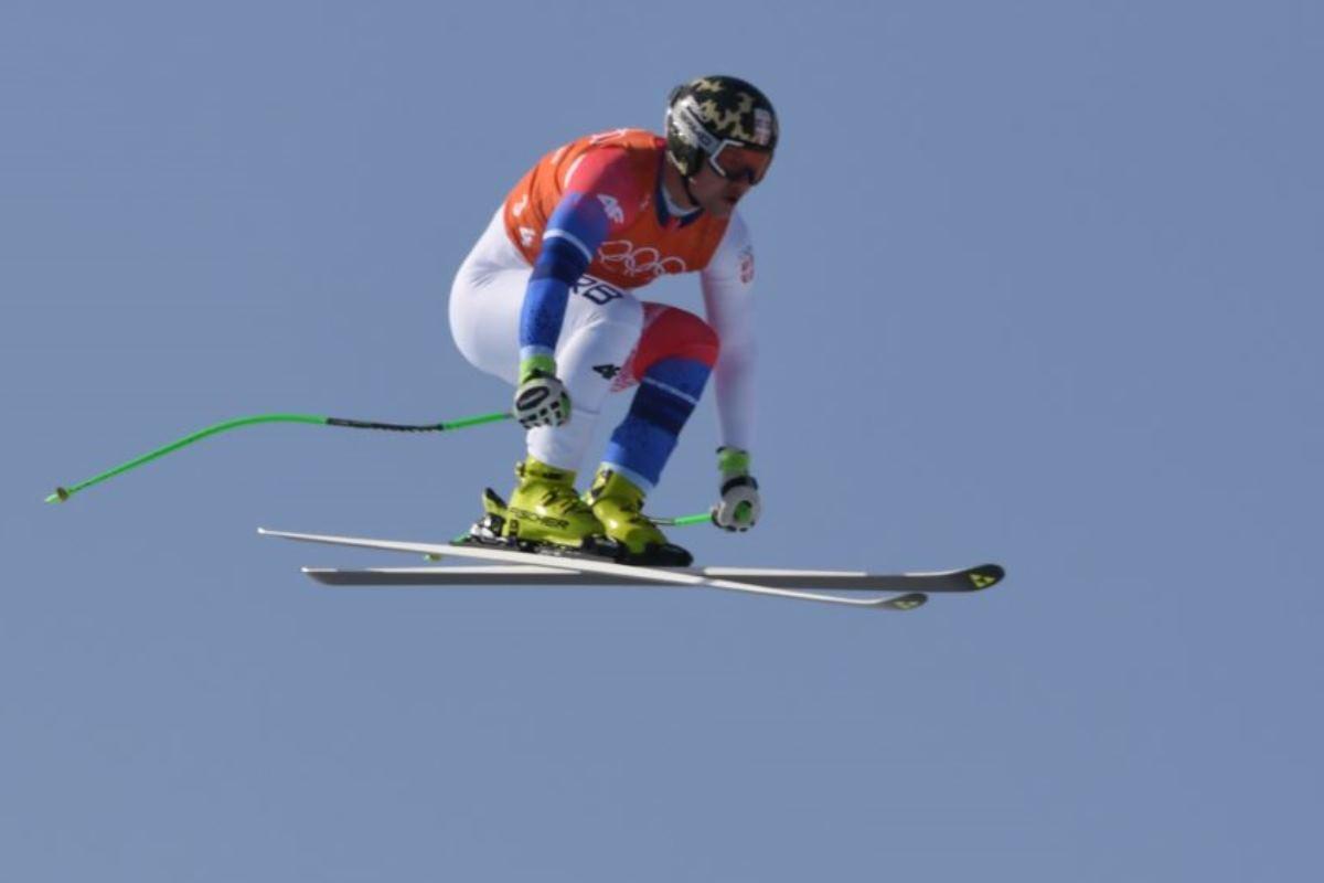 Иван Ковбаснюк, который участвовал в слаломе, не финишировал