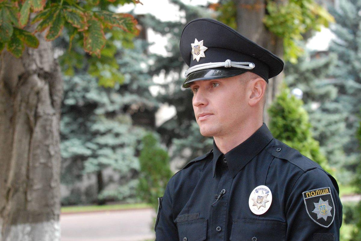 Самый главный красавец в рядах патрульной полиции