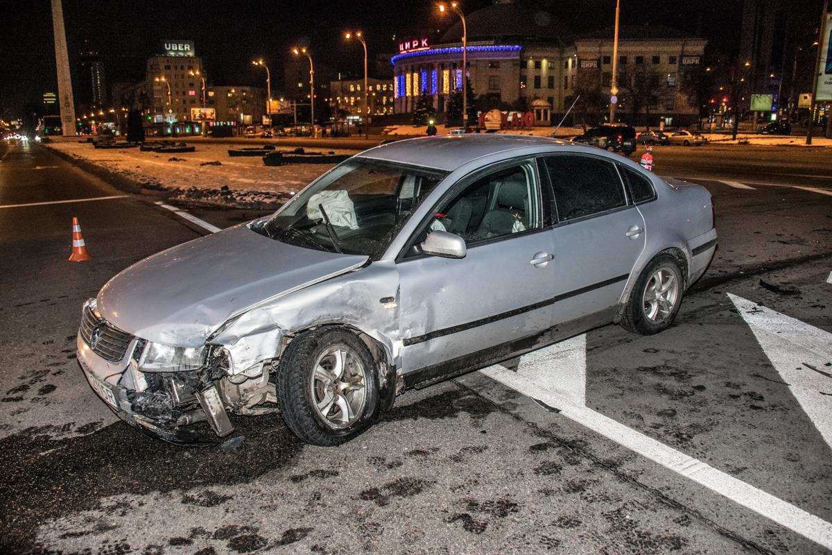 Водитель Volkswagen утверждает, что не видел Suzuki