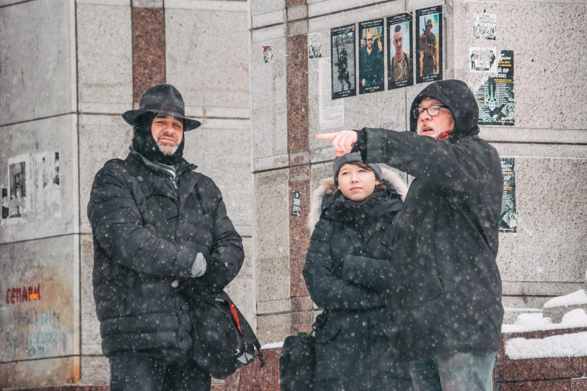 Киевляне всегда подскажут, как пройти и куда пойти в столице