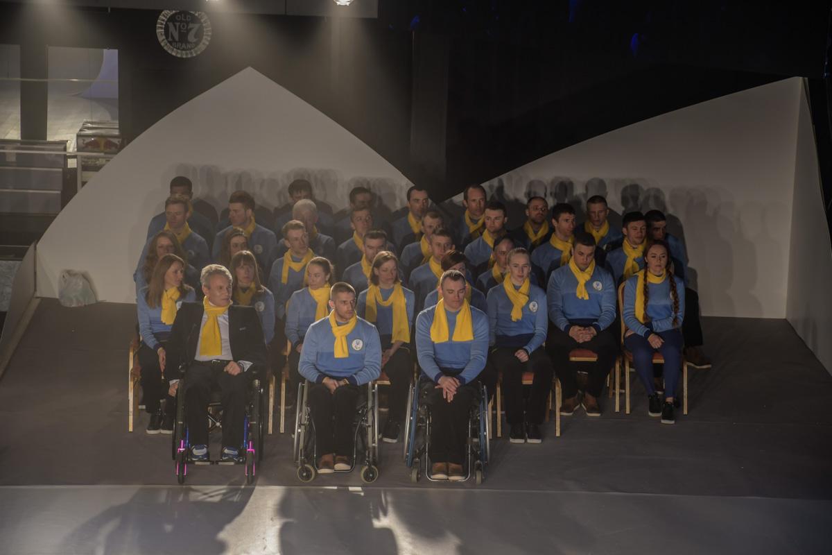 Украину на Паралимпиаде представит 30 спортсменов