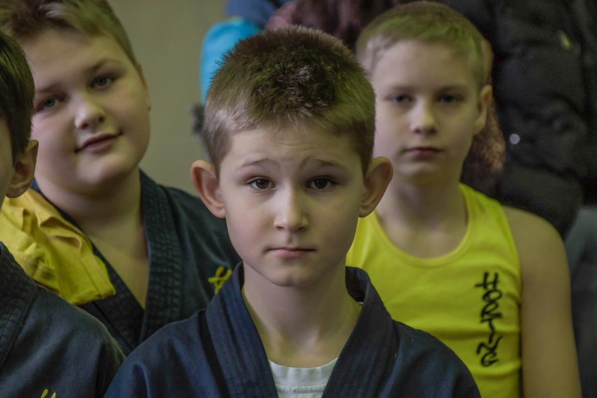 Школьники принимали участие в конкурсе разных возрастов