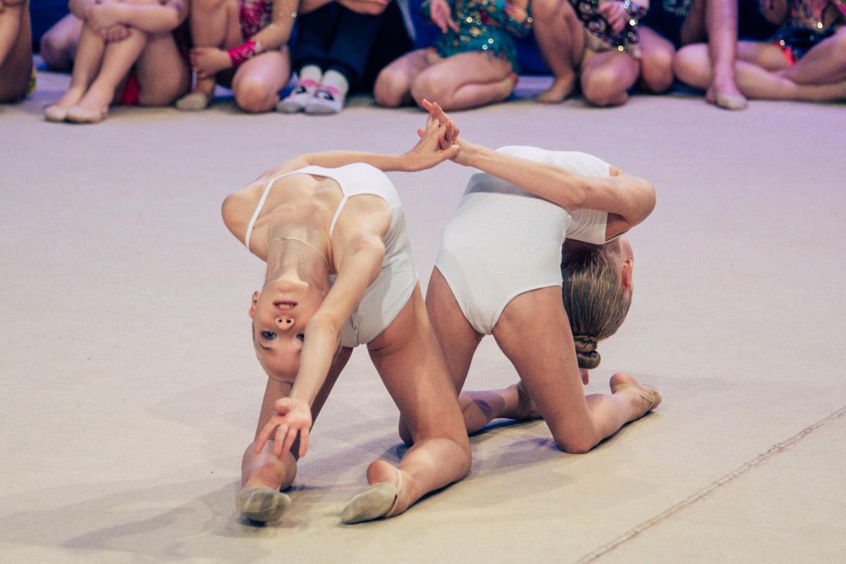 Гимнастки среди прочего представили на турнире и танцевальные номера