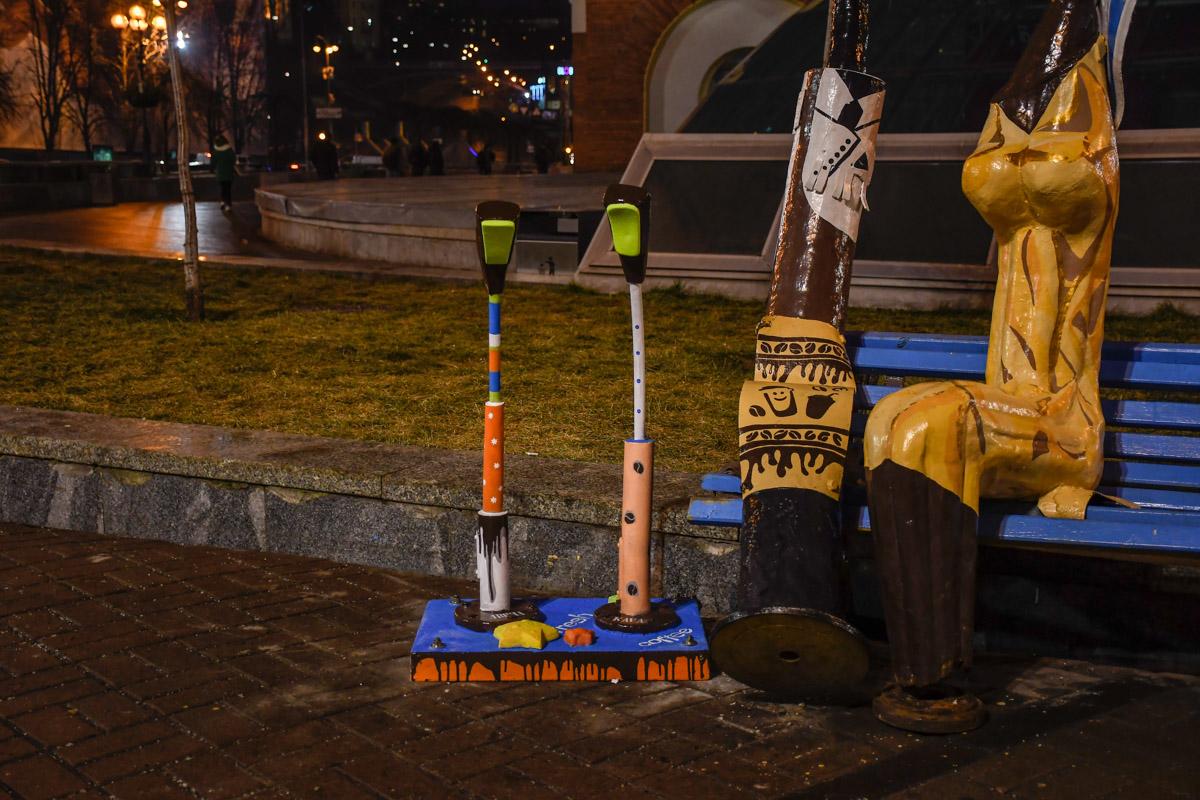 Киевляне и гости города уже успели оценить столичный креатив и положительно отозвались о новшестве в центре города