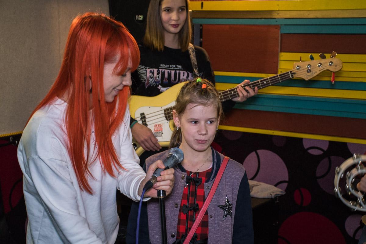 0-летняя Ульяна мечтает стать певицей
