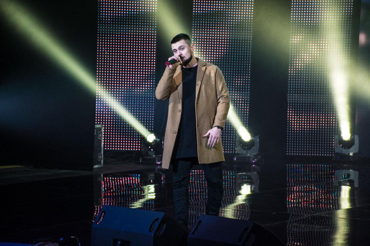 Ярмак открыл праздничный концерт