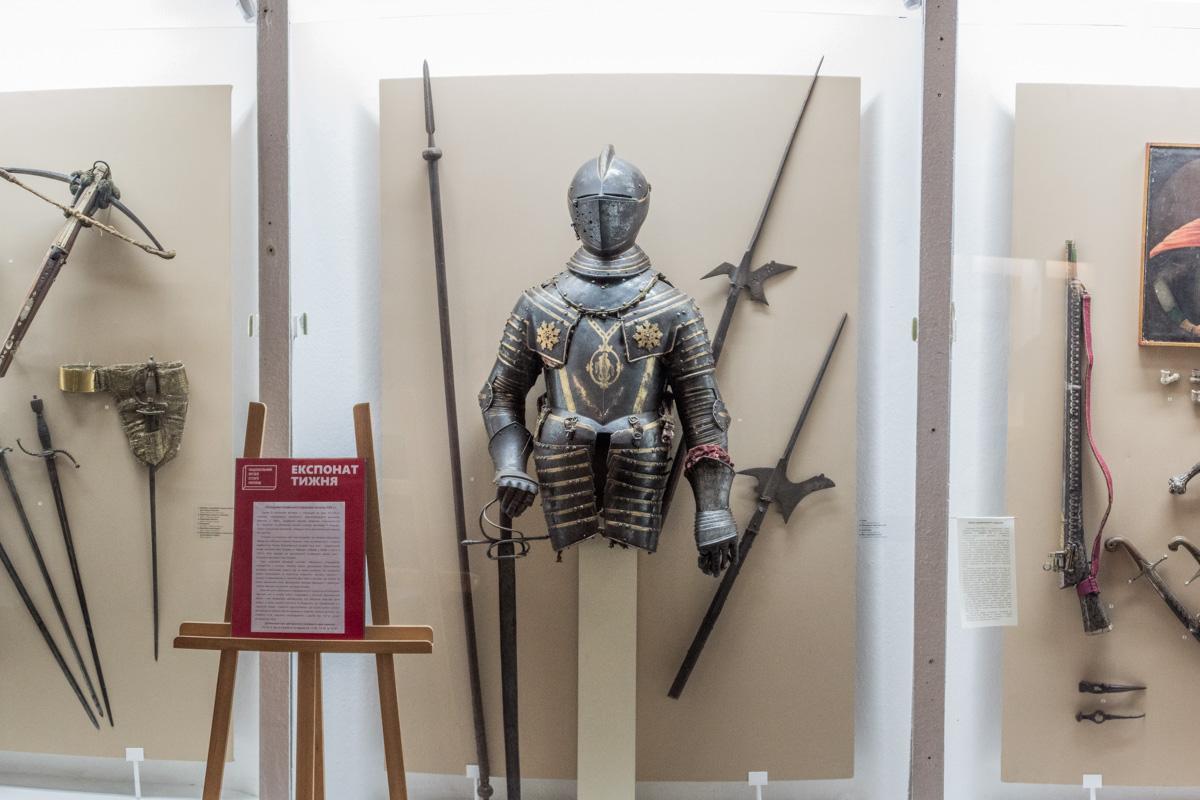 Так выглядели доспехи рыцарей во времена Средневековья