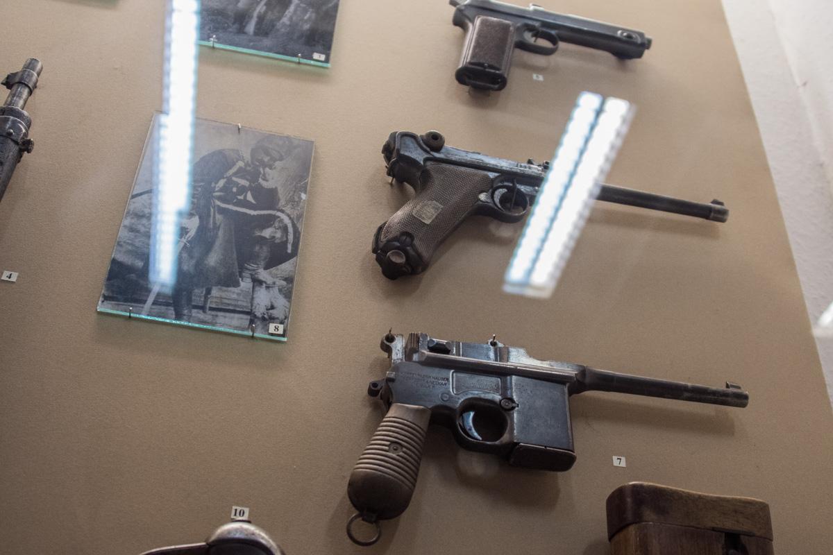 Так выглядело огнестрельное оружие времен Первой мировой войны