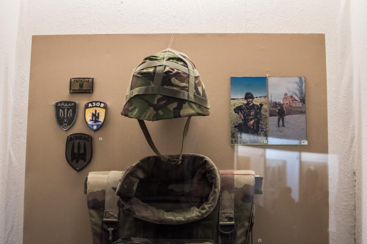 Здесь уже можно найти и современное военное оснащение