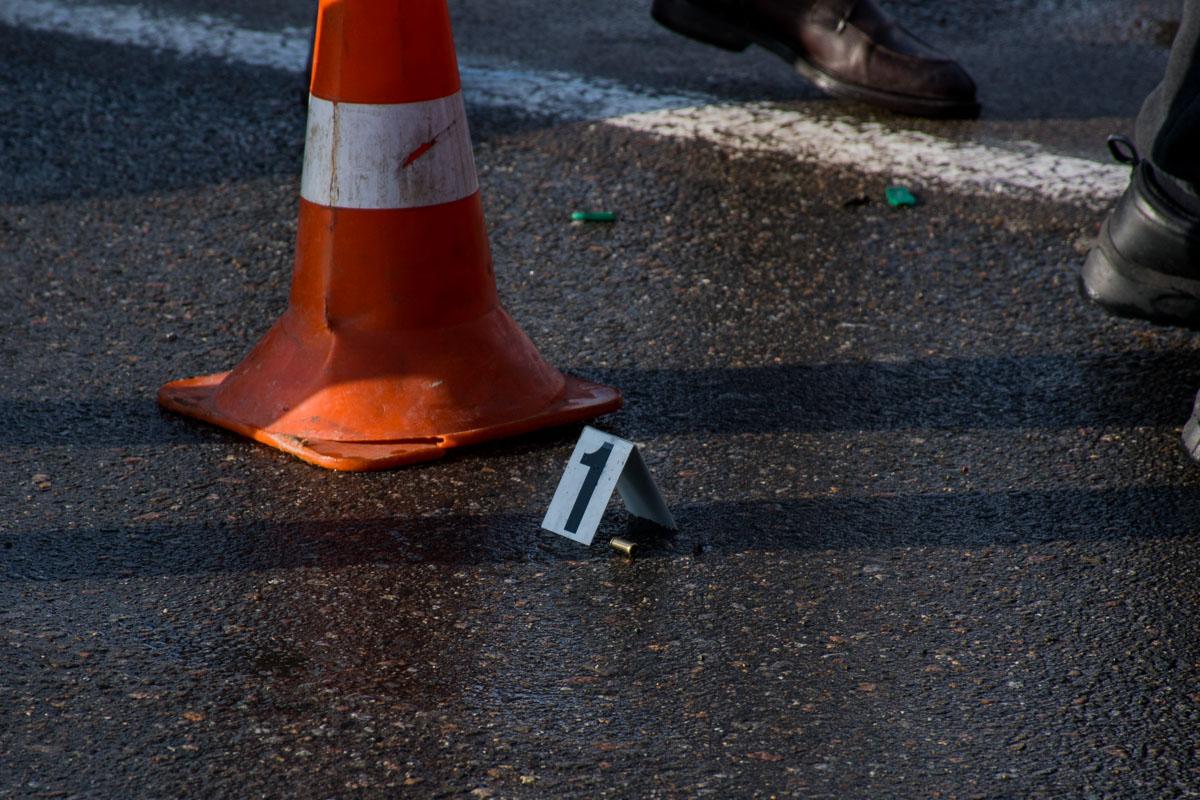 У водителя из кармана выпала гильза