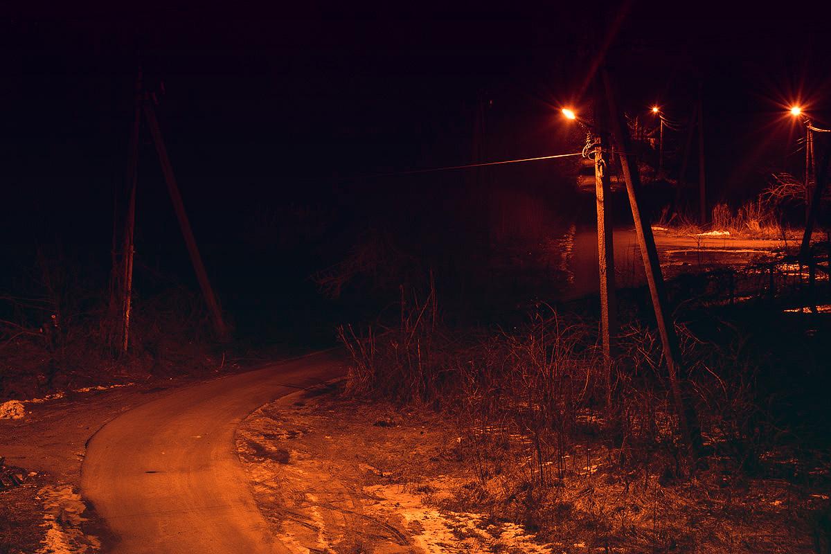 Ночной пейзаж этого города во многом отличается от спальных районов Киева