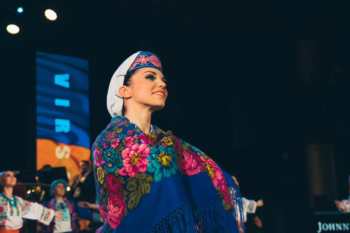Украинский народный танец, который открывает программу, поставил основатель ансамбля Павел Вирский