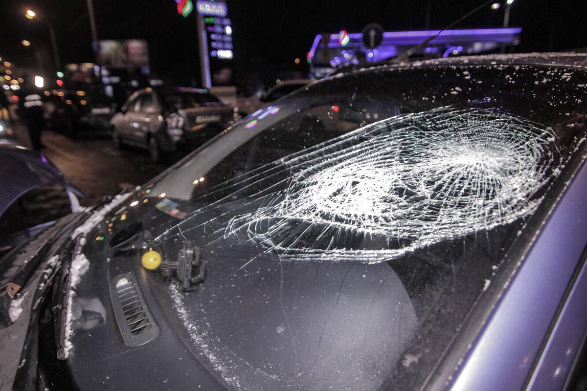 В аварии пострадал водитель Daewoo Matiz