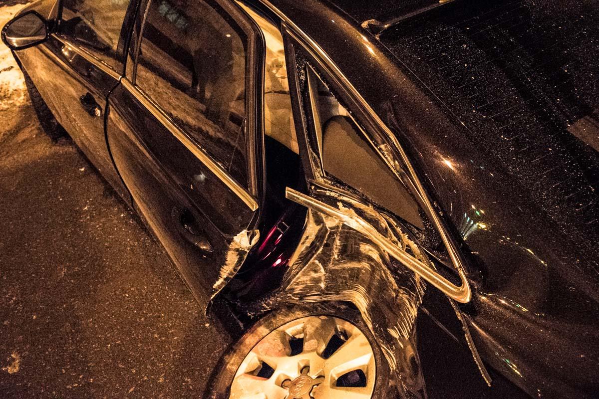 Водителя забрали правоохранители для прохождения теста на содержание алкоголя в крови
