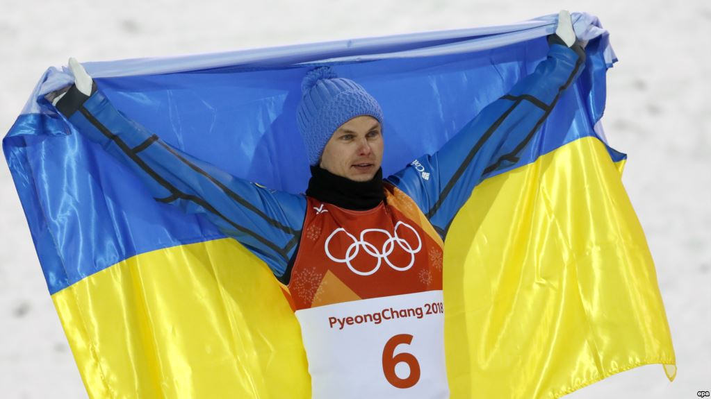 Александр Абраменко - наша гордость Олимпиады