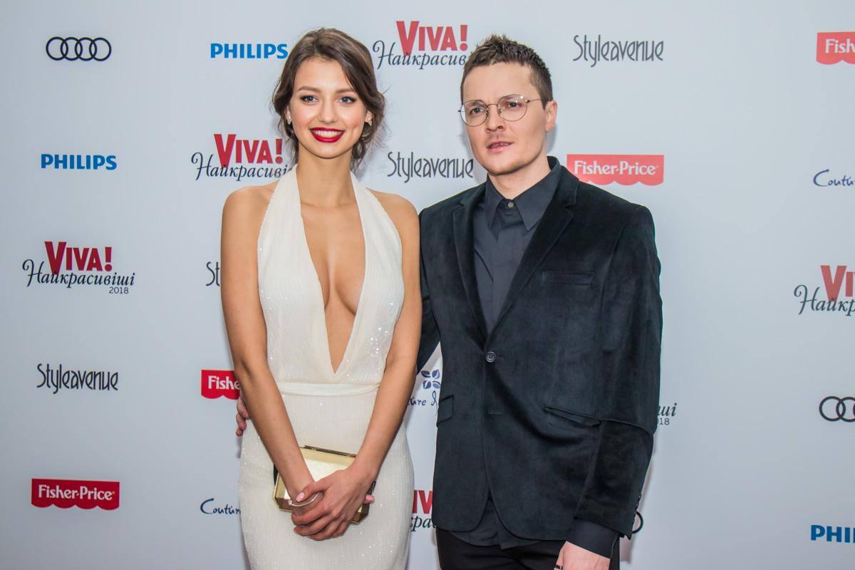 Мисс Украины Полина Ткач и певец Женя Галич
