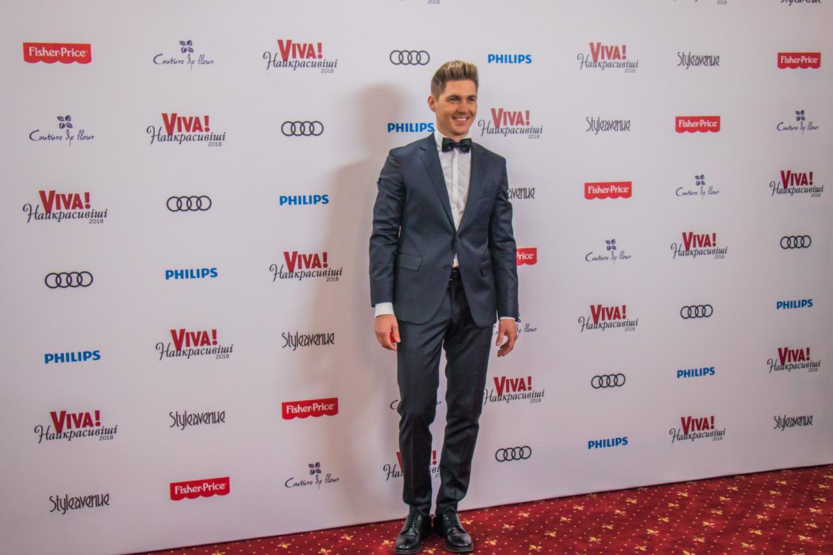 Телеведущий Владимир Остапчук