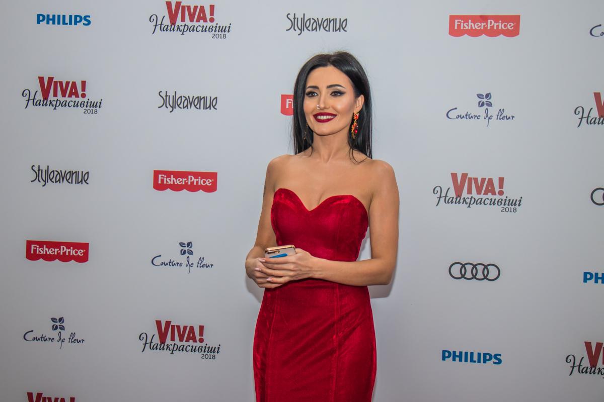 Певица Анна Добрыднева
