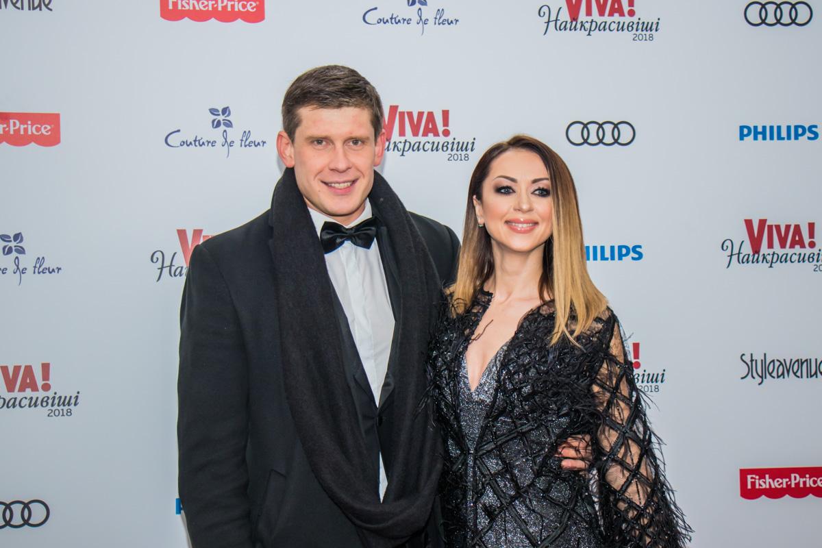 Актер Алексей Тритенко и певица Наталья Валевская