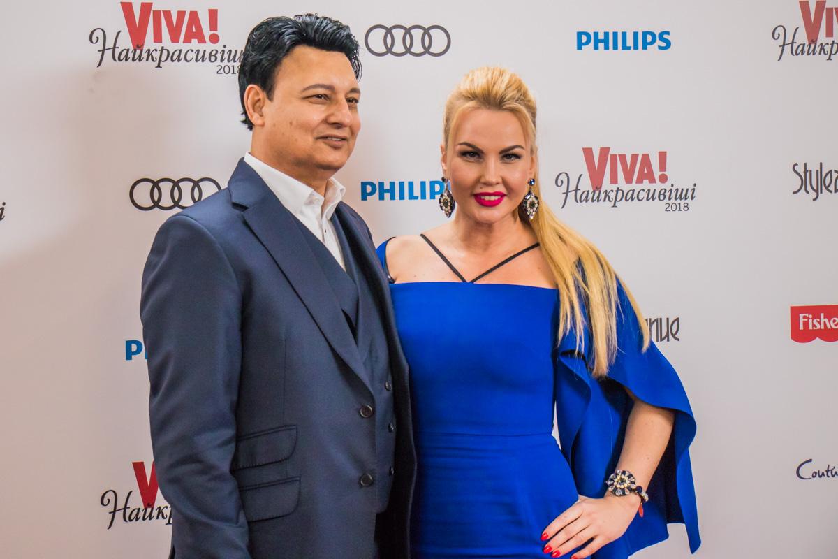 Певица Камалия с мужем