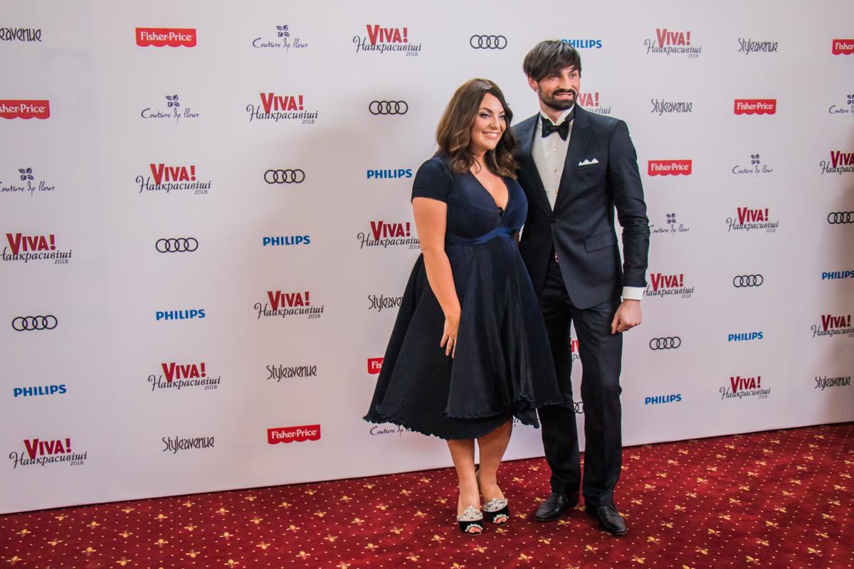 Психолог Наталаья Холоденко и ее партнер по танцам Виталий Загоруйко