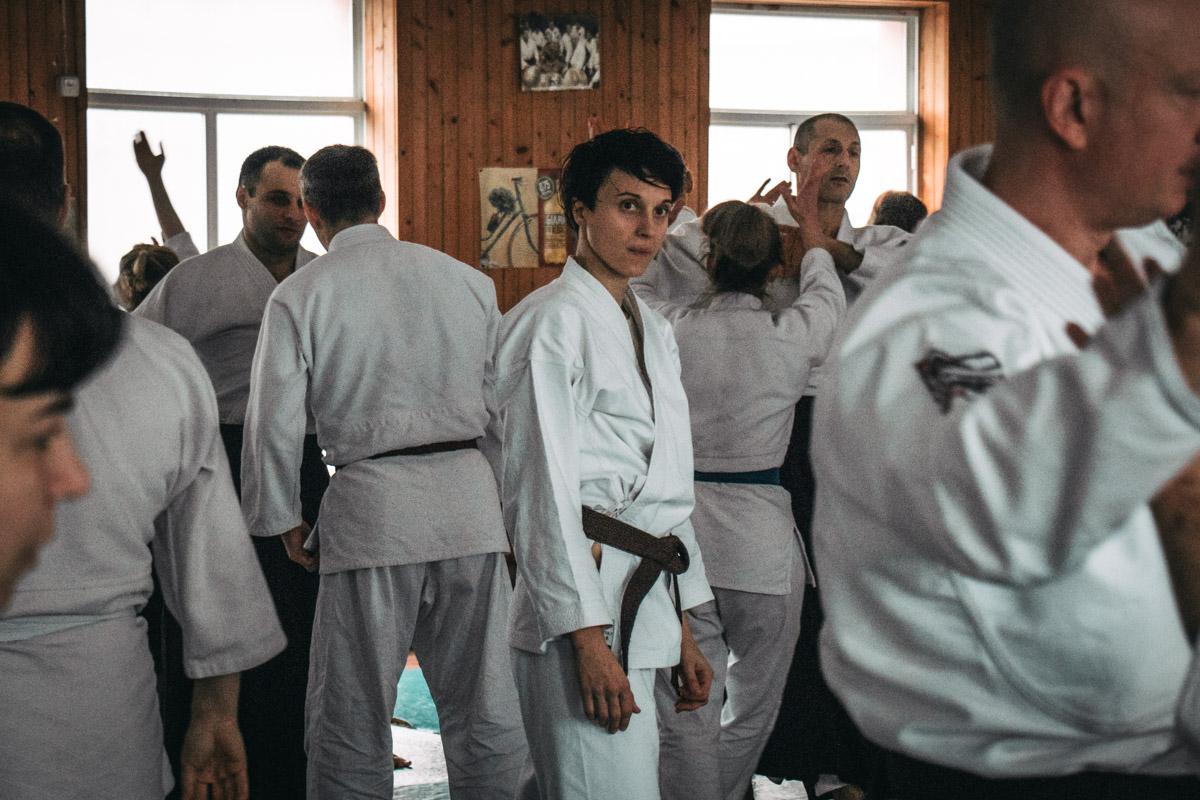 Члены Ассоциации Айкидо приехали на семинар из разных регионов Украины
