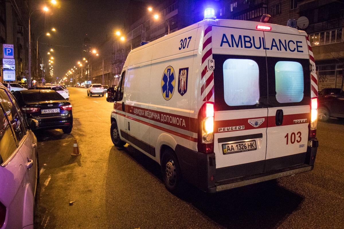 Пострадавшую с места аварии госпитализировала скорая помощь
