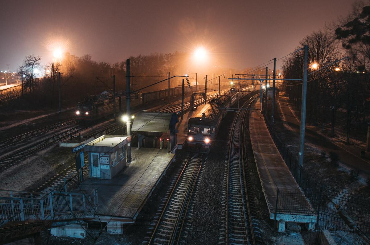В ночное время суток не спят только поезда