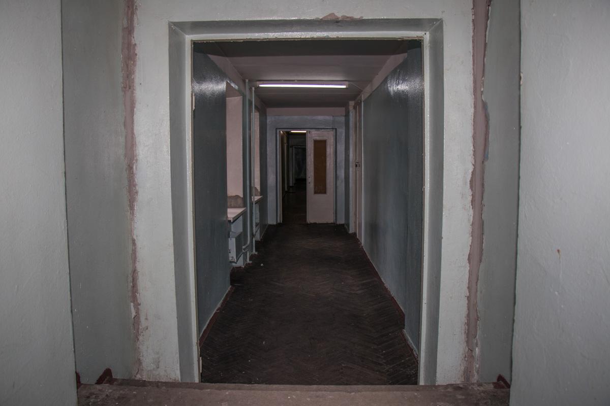 Некоторые коридоры в нормальном состоянии