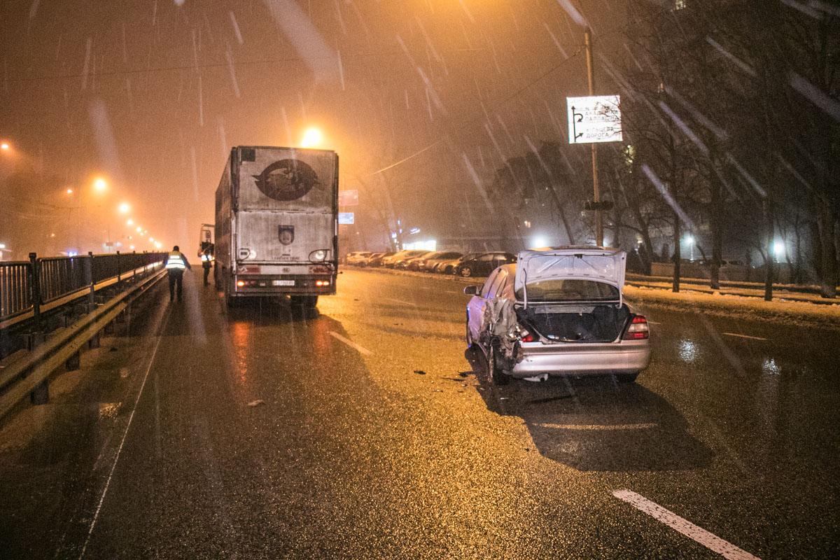 Авария произошла на проспекте Победы