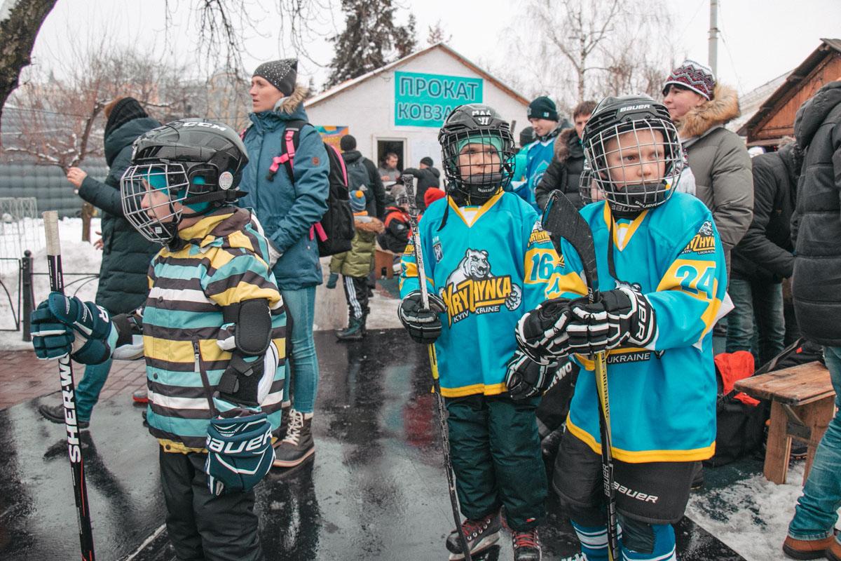 Юные хоккеисты готовы к тренировкам