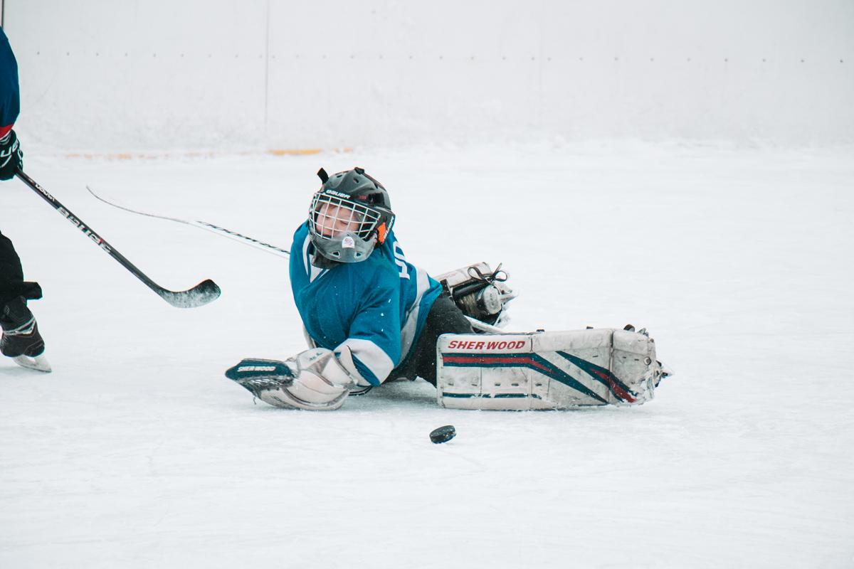 Без падений в хоккее никуда