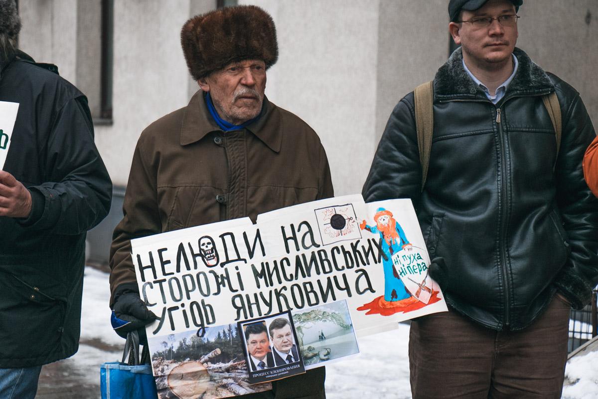 В основном, участники акции - пожилые люди