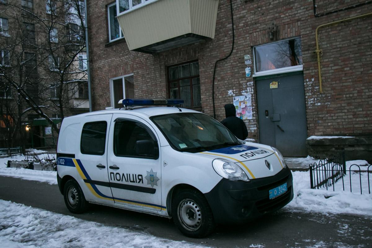 К месту инцидента приехала полиция и скорая помощь