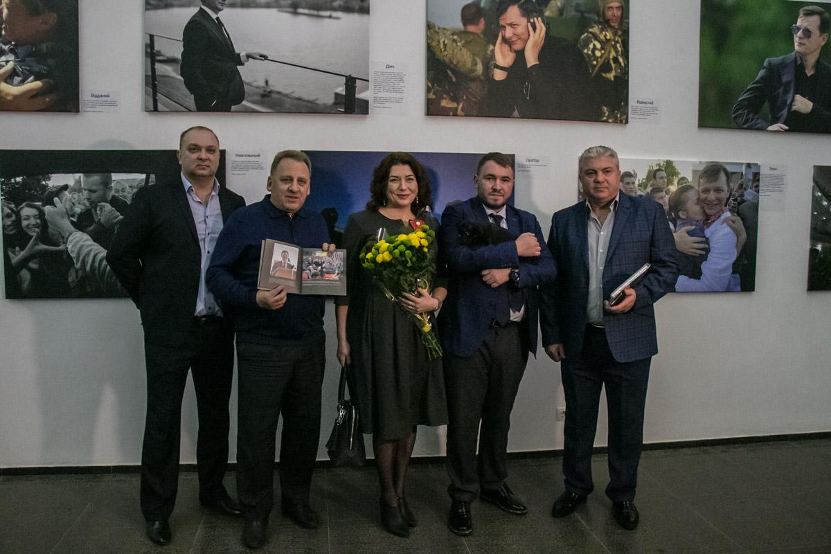 Посмотреть на Олега Ляшко в образах пришли около 50 человек