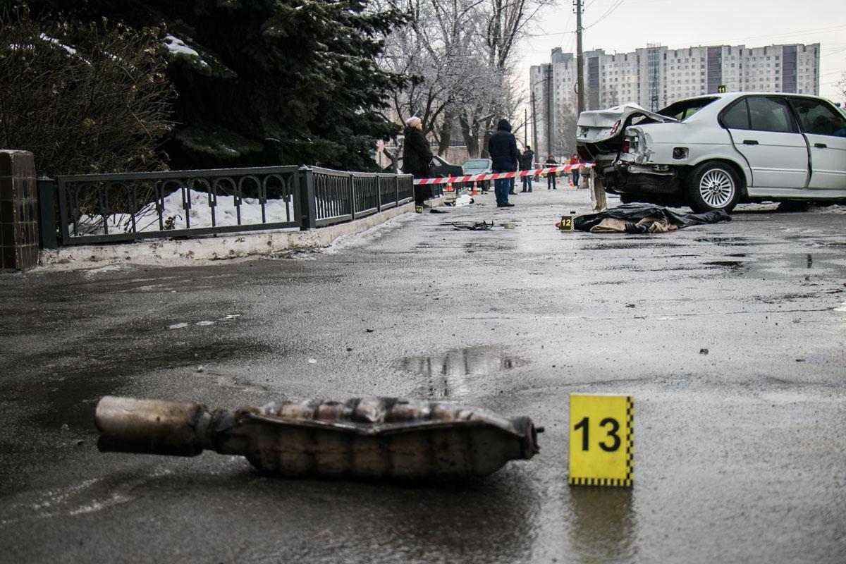 Водителя, который сбил женщину, забрали на осведетельствование