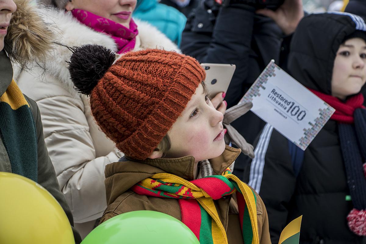 Были среди гостей и совсем юные литовцы