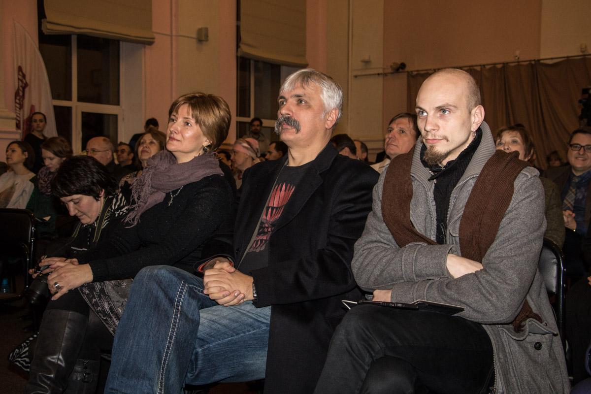 Среди политиков в зале был и нардеп Дмитрий Корчинский