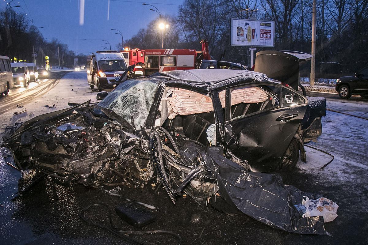 Водитель Honda скончался на месте