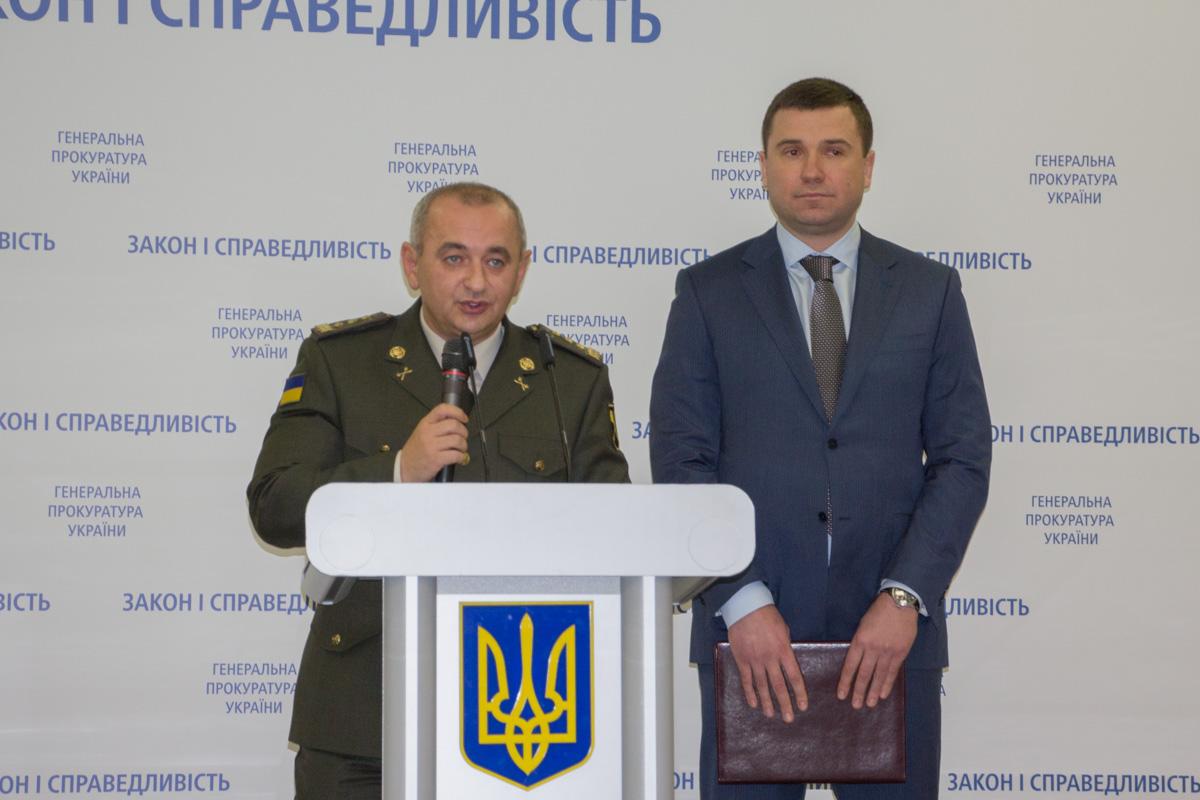 главный военный прокурор Анатолий Матиос детали следствия рассказать отказался