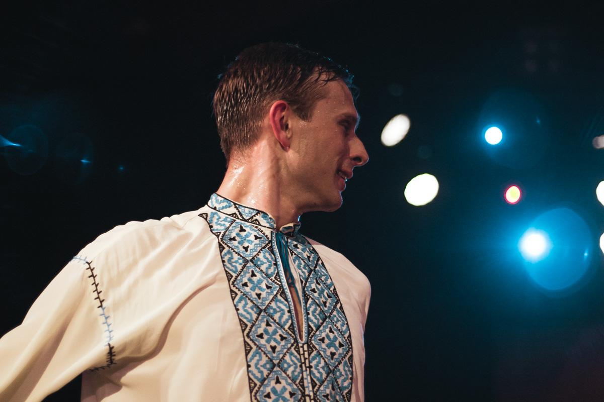 Гопак показывает мужество и силу украинского казачества